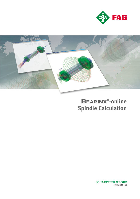 BEARINX®-online Spindle Calculation