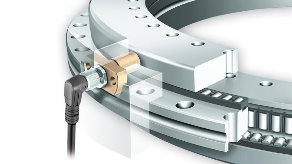 YRTCM/YRTSM measuring system bearings with SRM electronic measuring system for incremental, magneto-resistive angle measurement
