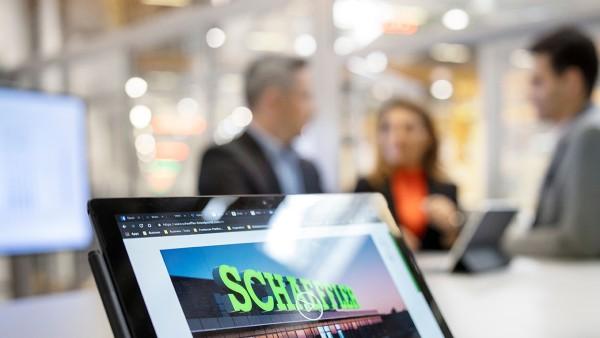 Schaeffler press area on corporate website